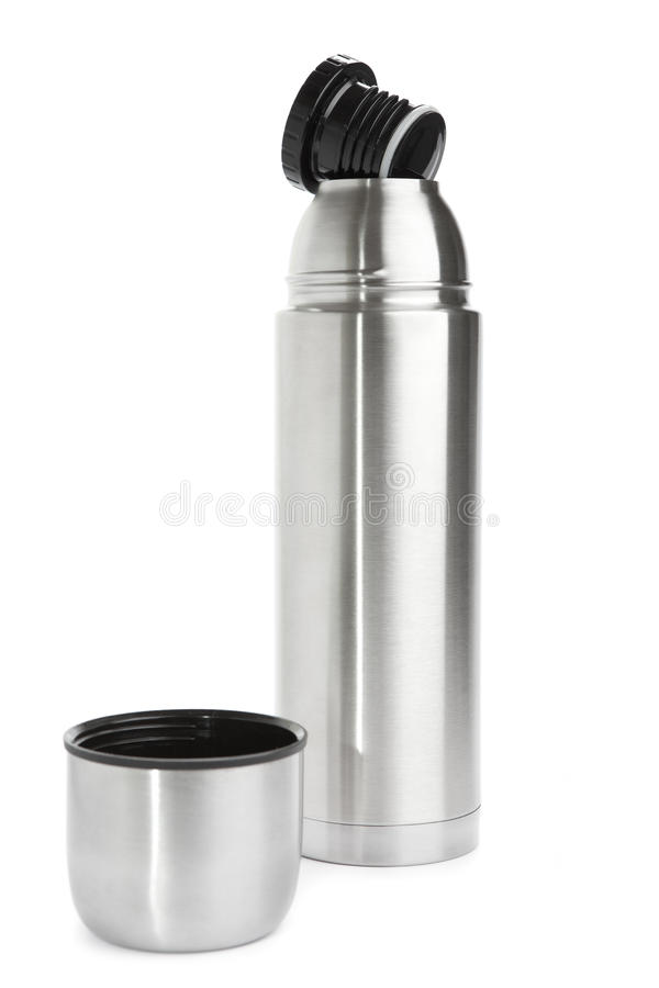 Download Thermos stock image. Image of photography, airtight, gray - 18322473