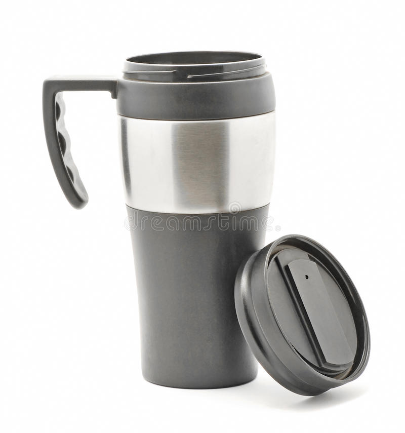 Download Thermos stock image. Image of still, heat, closed, aluminum - 28991263