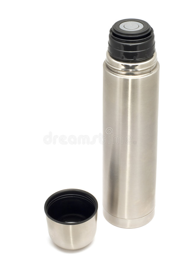 Thermos bottle royalty free stock images