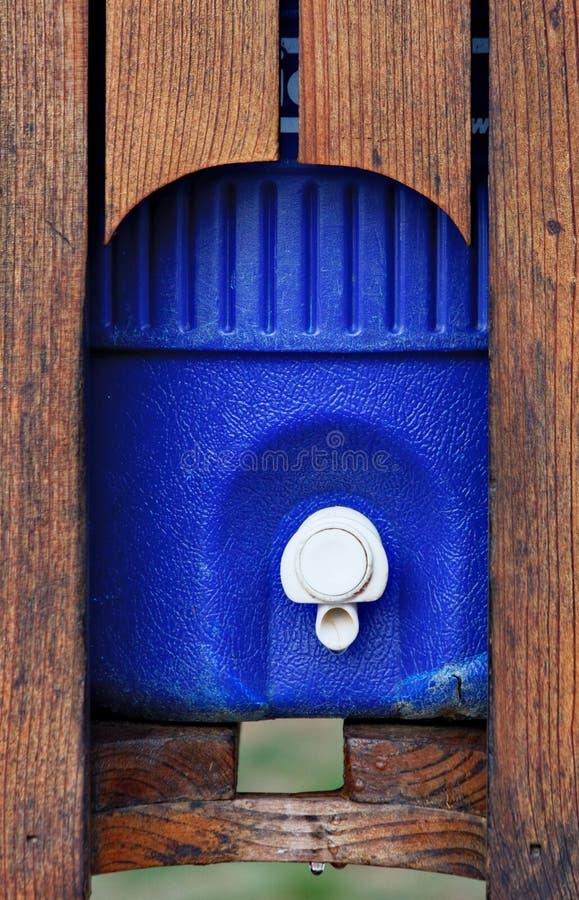 Thermos dell'acqua fotografia stock