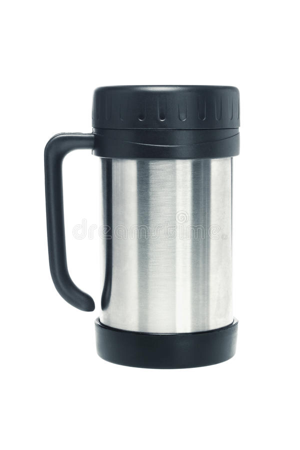 Download Thermos mug stock photo. Image of closed, stainless, vacuum - 23491388