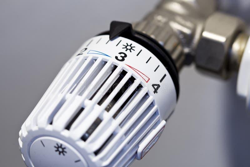 Thermostat stockfotografie