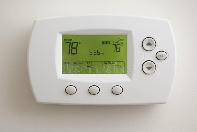 Thermostat de Digitals image libre de droits