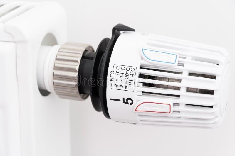 Thermostat de radiateur photos stock