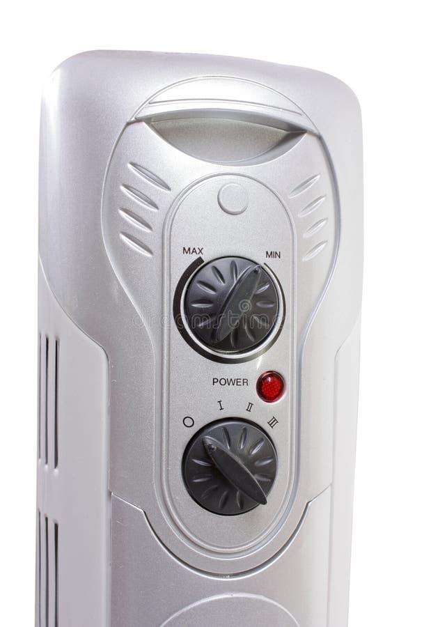 Thermostat der elektrischen Schmierölheizung lizenzfreie stockbilder