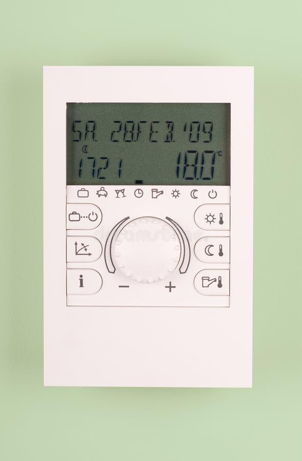 Thermostate del sitio foto de archivo