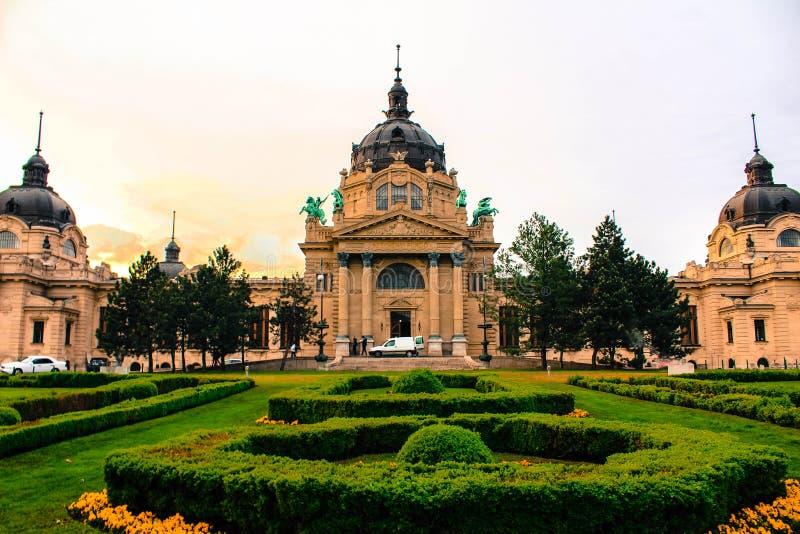 Therms Будапешта стоковое изображение rf