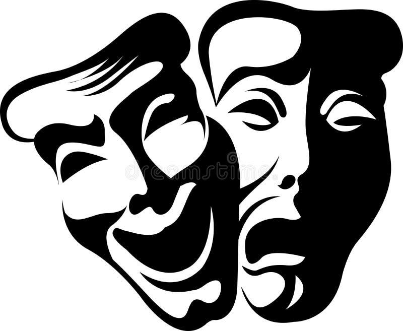 thespian маски бесплатная иллюстрация