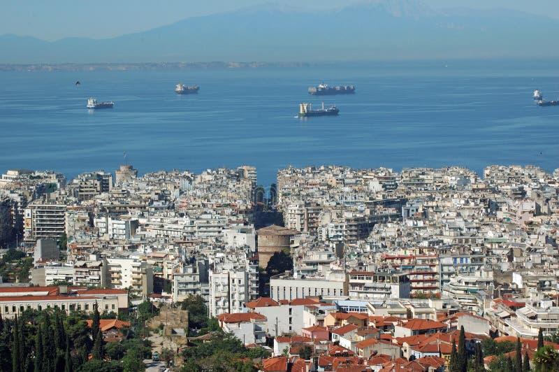 Thessaloniki royalty-vrije stock fotografie