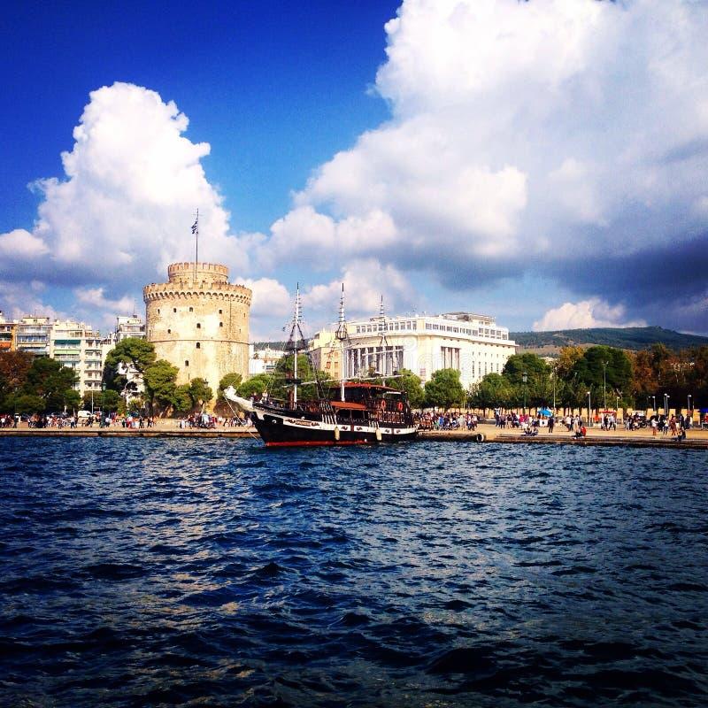 thessaloniki stockfoto