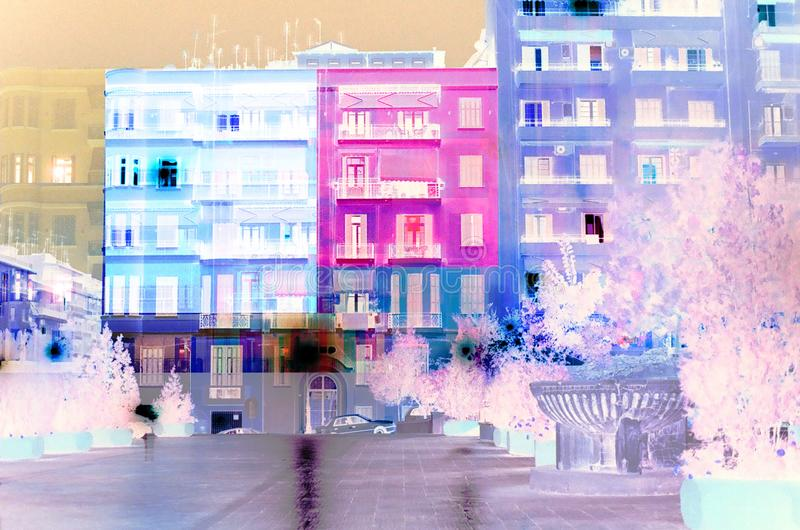 Thessaloniki in Colors royalty free stock photography