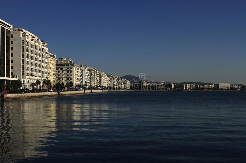 Thessaloniki, Greece royalty free stock photography