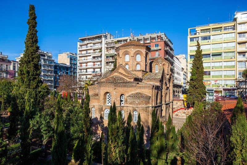 10.03.2018 Thessaloniki, Greece - Agios Panteleimon church in Th stock image