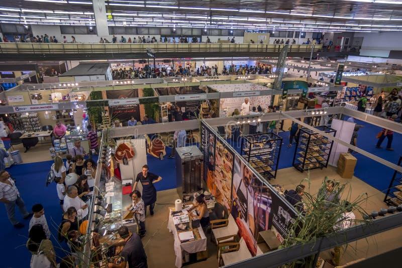 Thessaloniki International annual fair. Thessaloniki International exhibition and congress center stock images