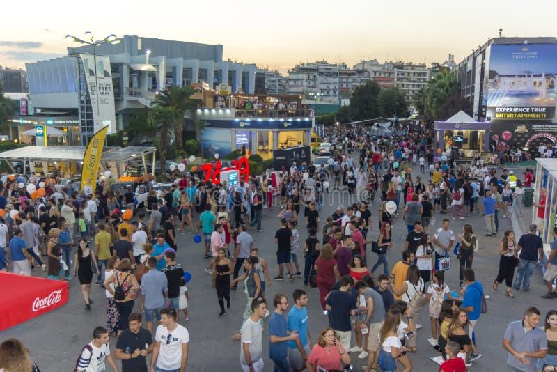 Thessaloniki International annual fair. Thessaloniki International exhibition and congress center royalty free stock photos