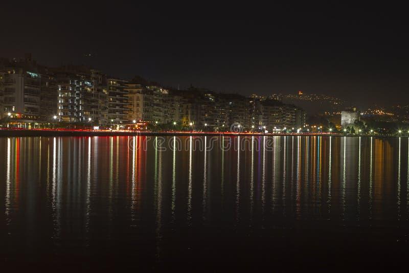 Thessaloniki Stad stock foto