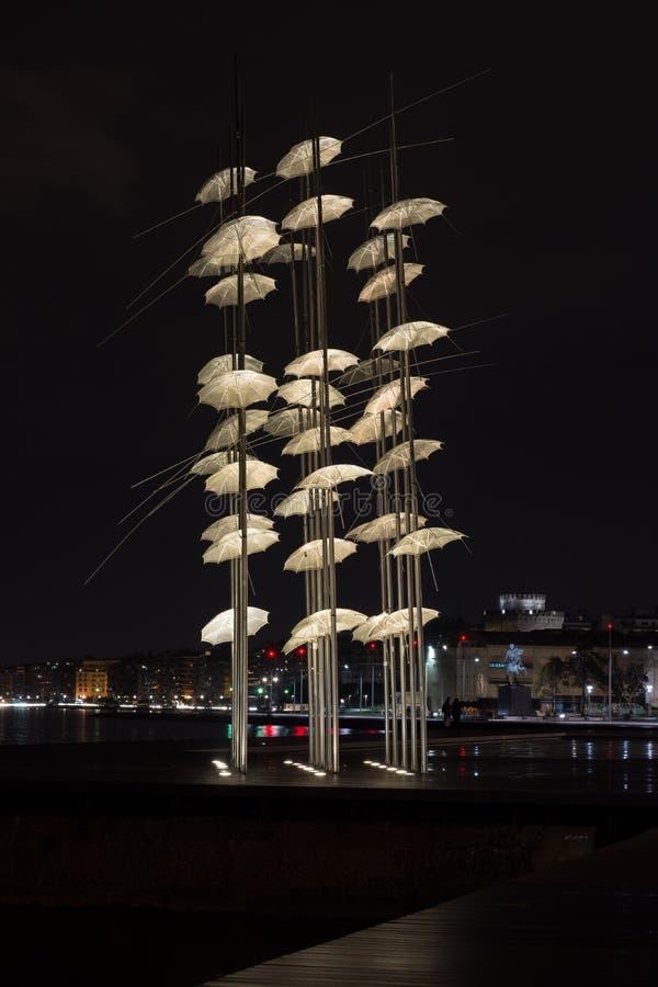 Free Thessaloniki Umbrellas Stock Photo - 68870240