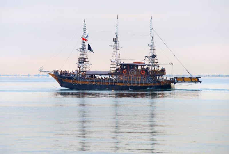 Thessaloniki zeilreis, Griekenland royalty-vrije stock afbeeldingen