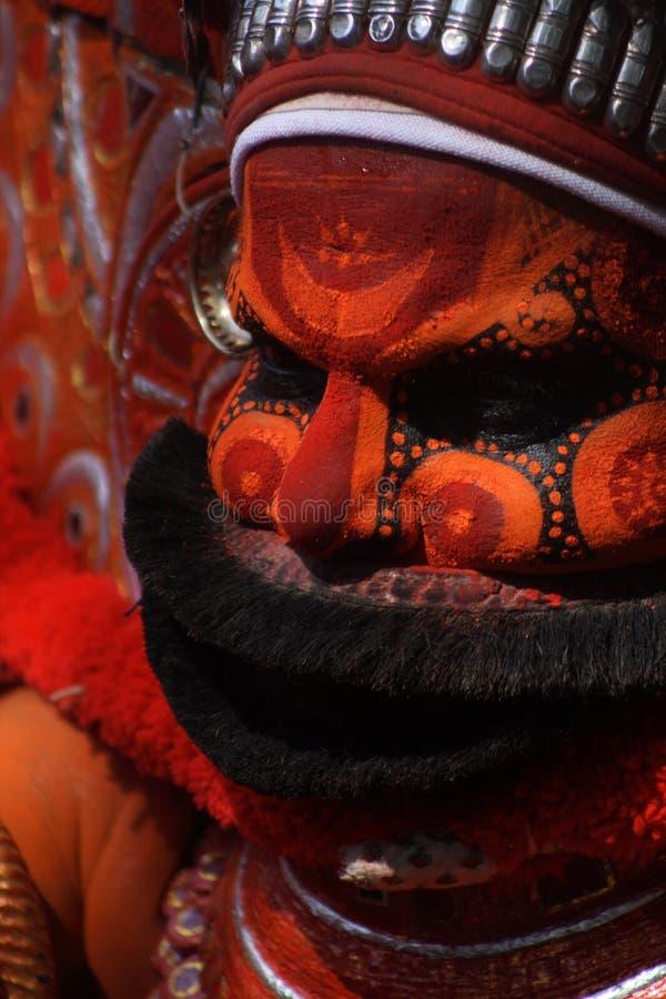 Theyyam 01 fotos de archivo libres de regalías