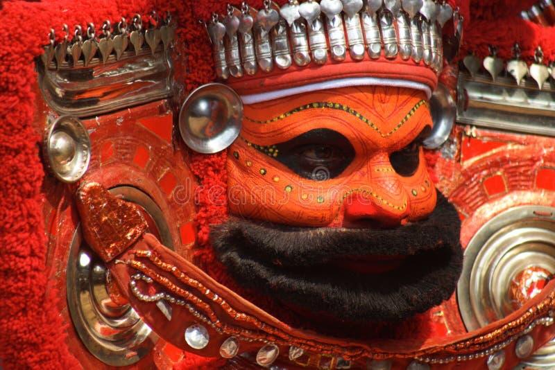 Theyyam 01 foto de archivo libre de regalías