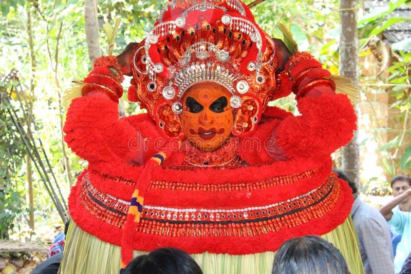 Theyyam royaltyfria bilder