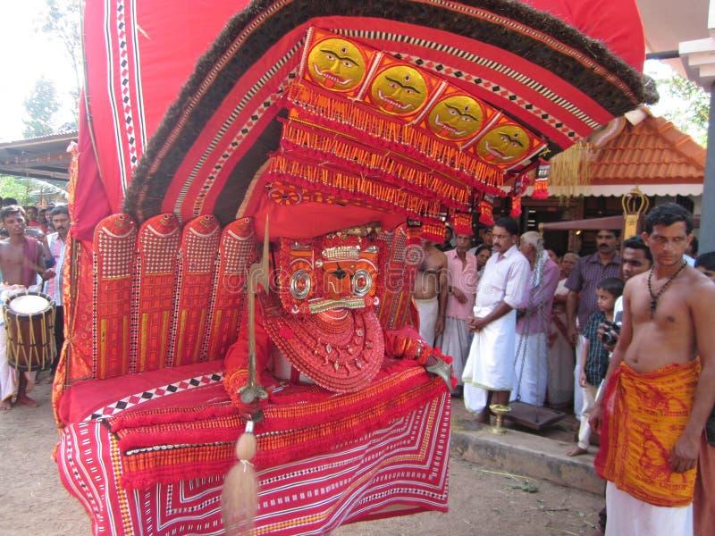 Theyyam imagen de archivo