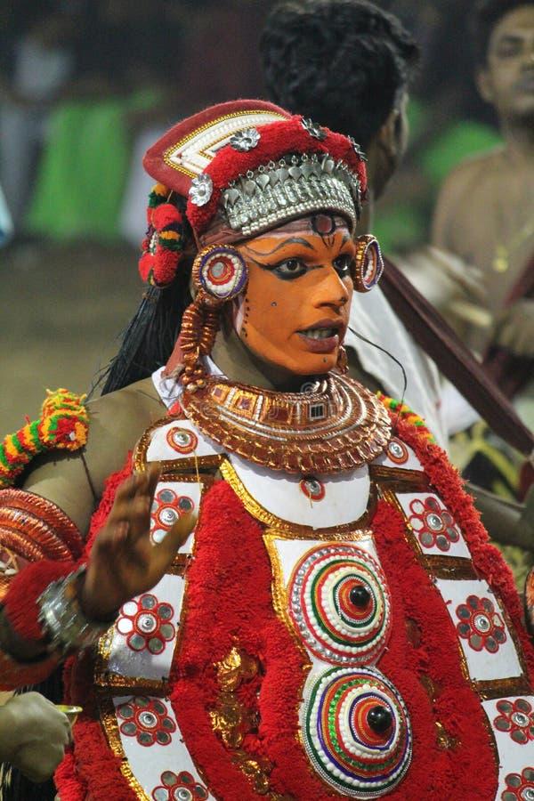 Theyyam fotografía de archivo libre de regalías