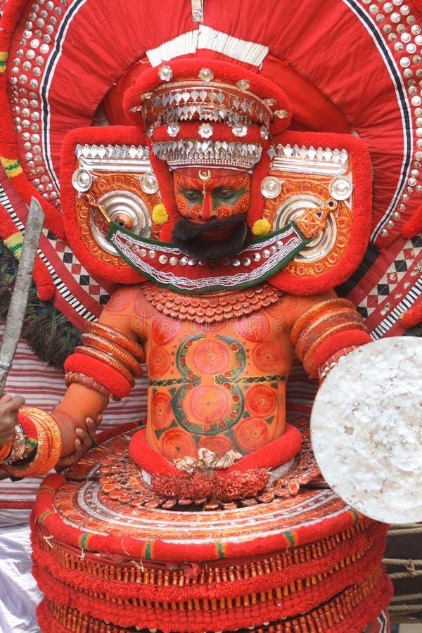 Theyyam imagen de archivo libre de regalías