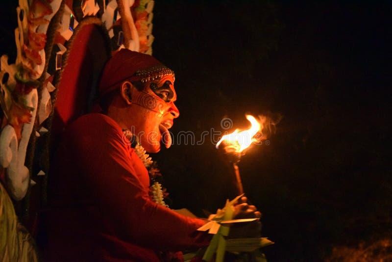 Theyyam photographie stock libre de droits