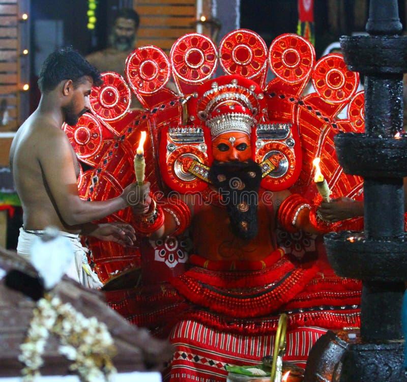 Theyyam stockbild