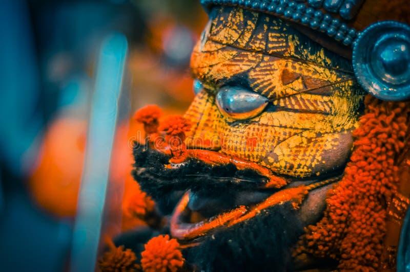 Theyyam nel Kerala fotografie stock libere da diritti