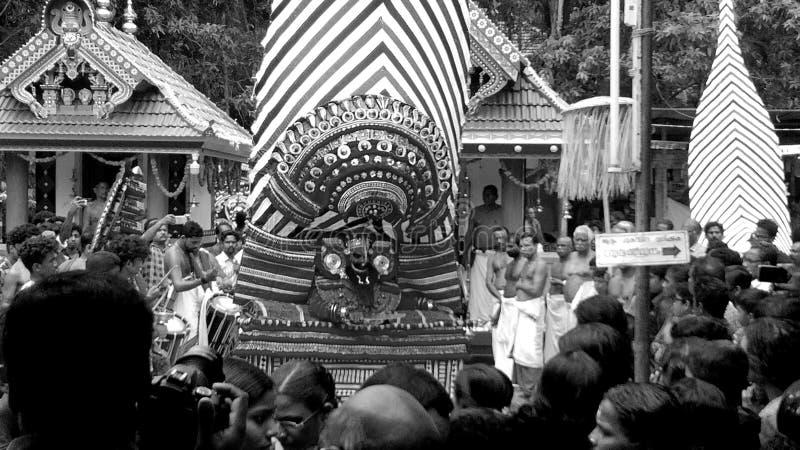 Theyyam & x28;traditional & x29; stock photo