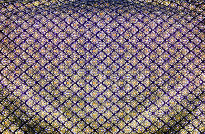 Thi pattern silk fabric royalty free stock image
