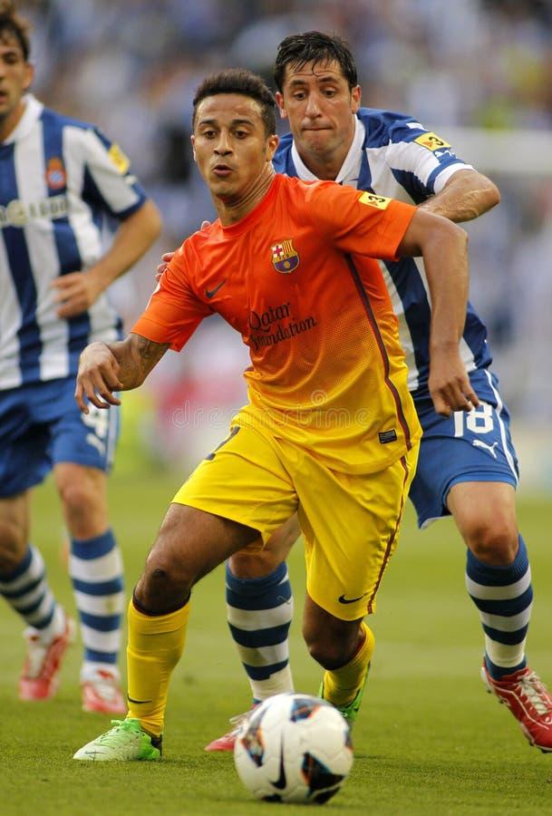 Download Thiago Alcantara Of FC Barcelona Editorial Stock Image - Image of midfielder, attack: 33279659