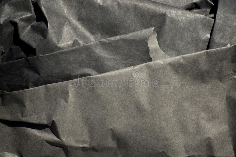 Download Thick Black Paper Folded Stock Photo - Image: 83705341