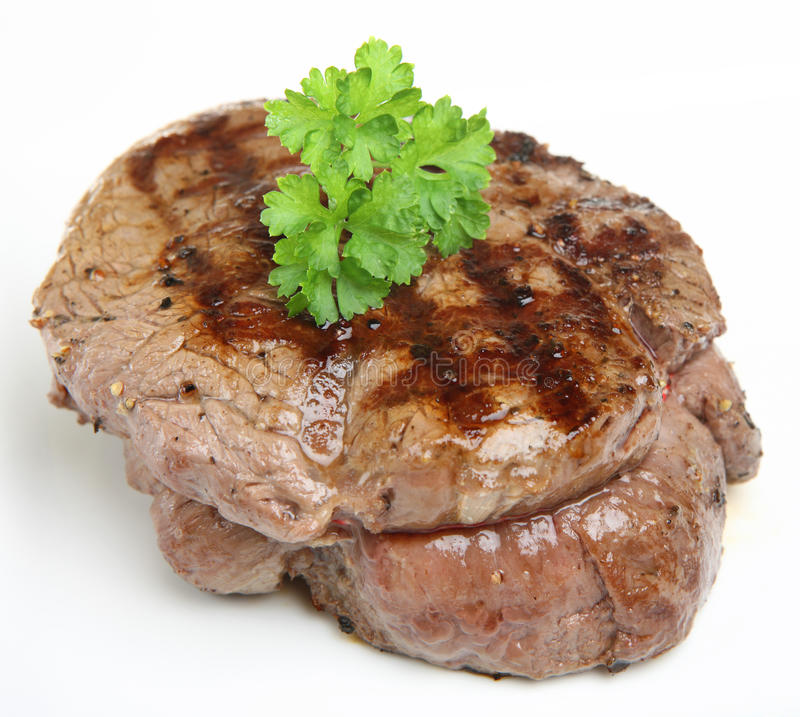 Download Thick Fillet Steak stock image. Image of dinner, mignon - 11001453