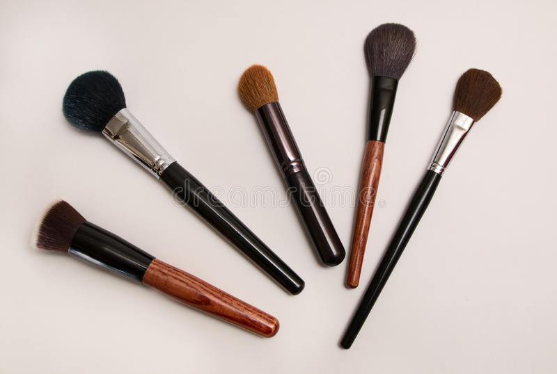 Thick makeup brush royalty free stock images