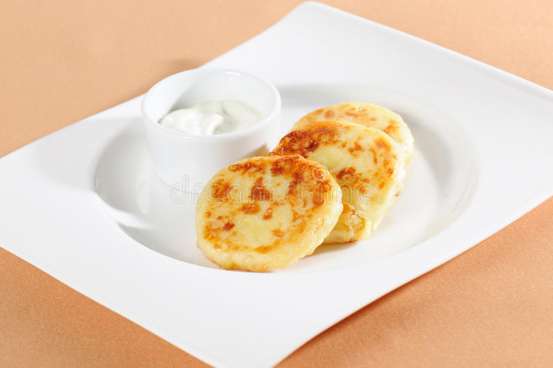 Download Thick pancake stock photo. Image of dessert, life, baked - 19904634
