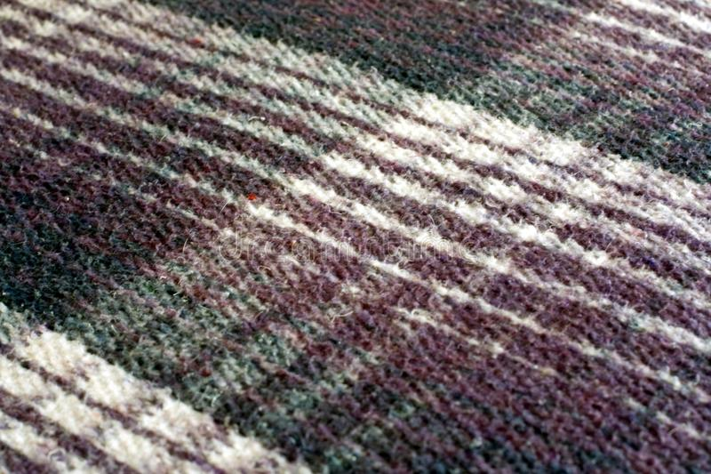 Download Thick Plaid Mexican Blanket Stock Photo - Image: 12768176
