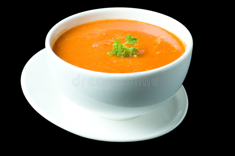 Thick Russian Soup 4 royalty free stock photos