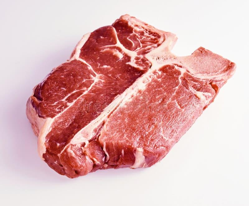 Thick tender lean porterhouse steak royalty free stock photos