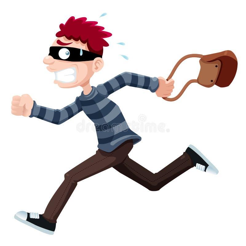 Thief stock illustration