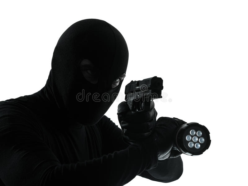 Download Thief criminal stock image. Image of mistery, hood, burglary - 27013595