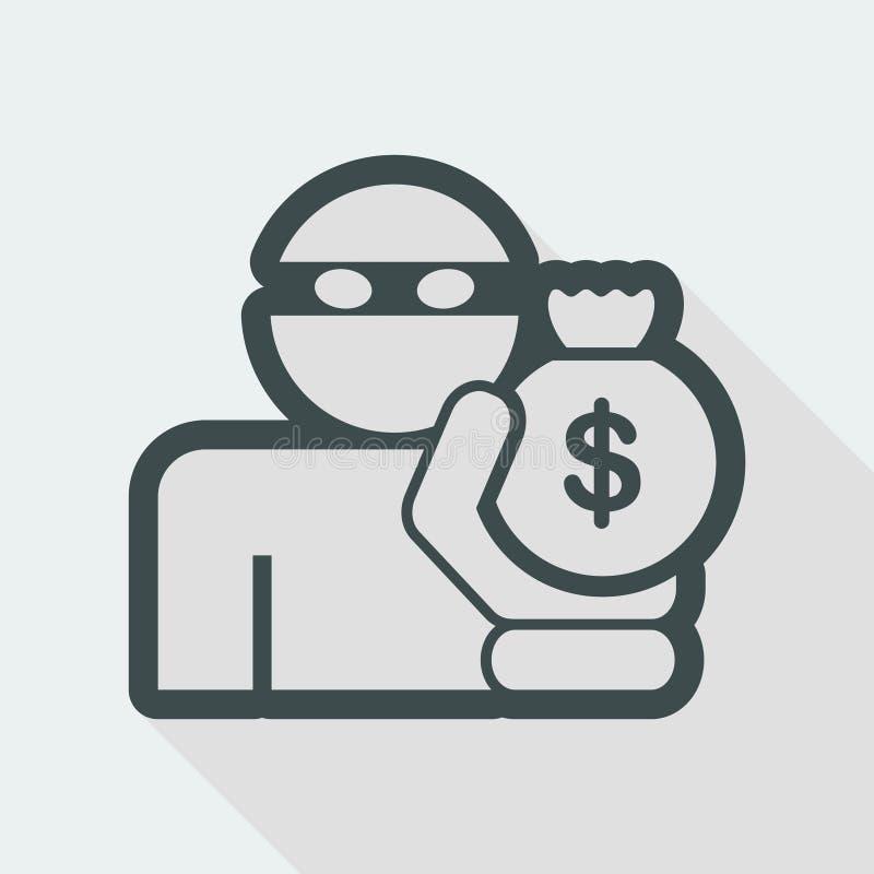 Thief icon vector illustration