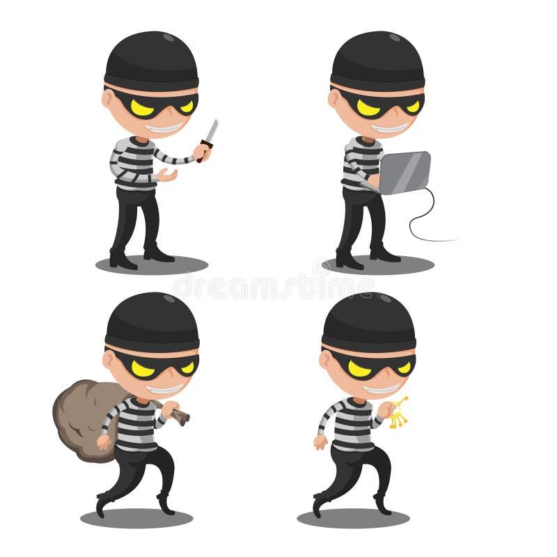 Hacker Icons Set Flat Illustrations & Vectors - dreamstime.com