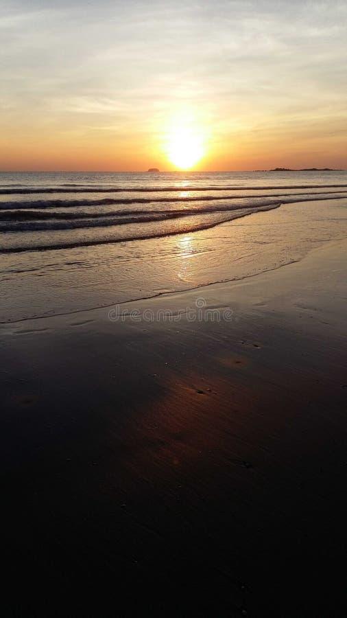 Thien Cam beach - Viet Nam stock image