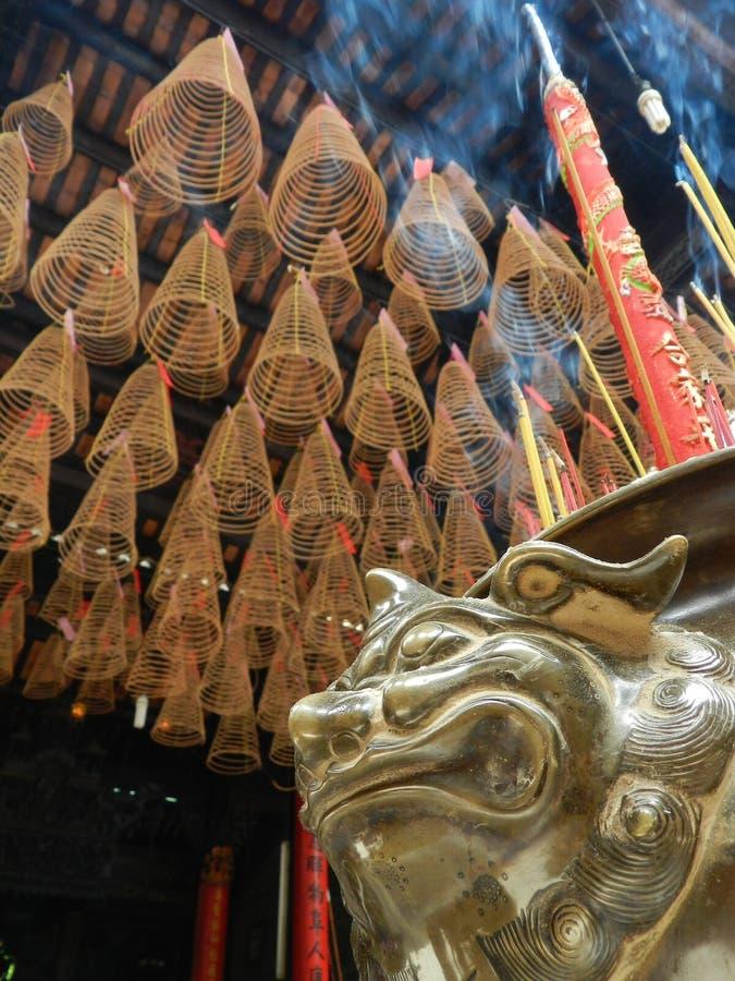 Thien Hau Tempel, Saigon, Vietnam lizenzfreie stockbilder