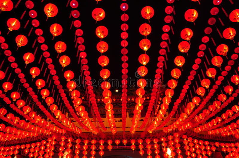 Thien Hou Temple stock photo