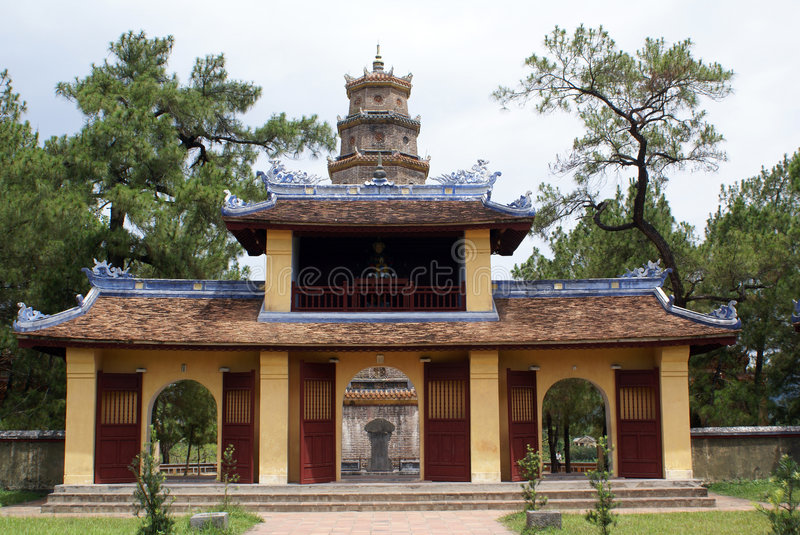 Download Thien Mu stock image. Image of religion, buddhism, styles - 6151483