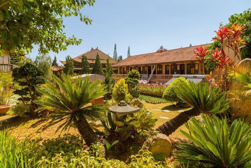 Thien Vien Truc Lam Monastery. stock photography